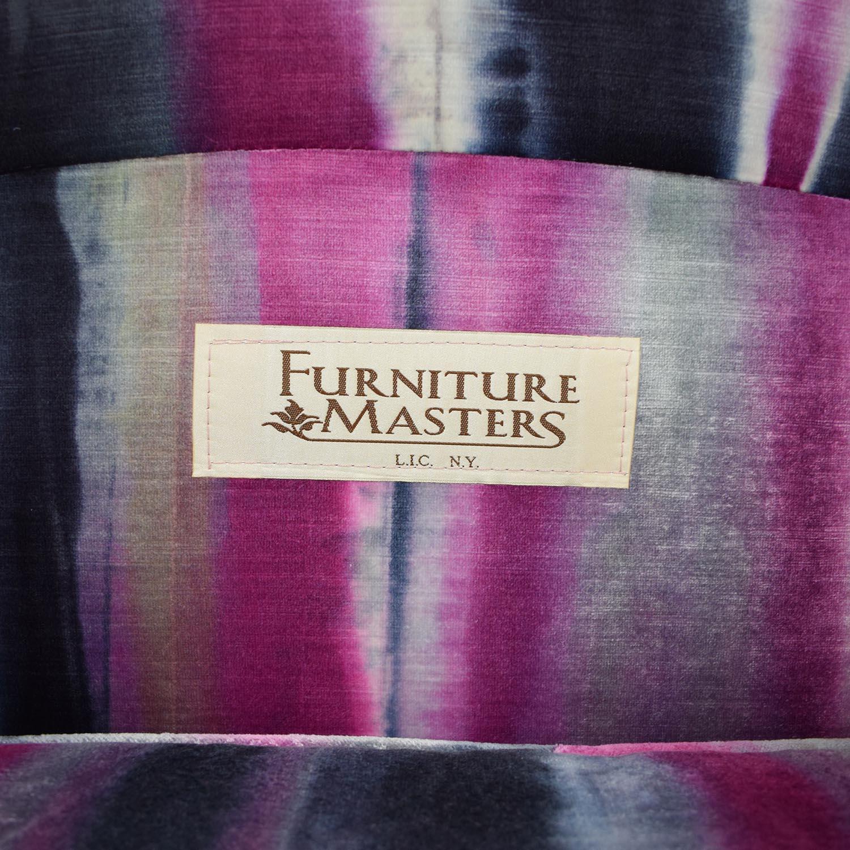 Furniture Masters Furniture Masters Purple Club Chairs used
