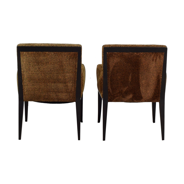 Furniture Masters Furniture Masters Cheetah Print Chairs dimensions