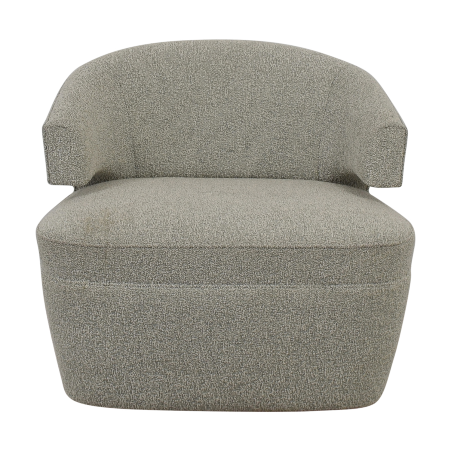 Furniture Masters Furniture Masters Grey Club Chair nj