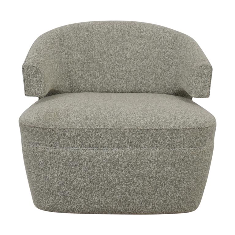 Furniture Masters Furniture Masters Grey Club Chair nyc