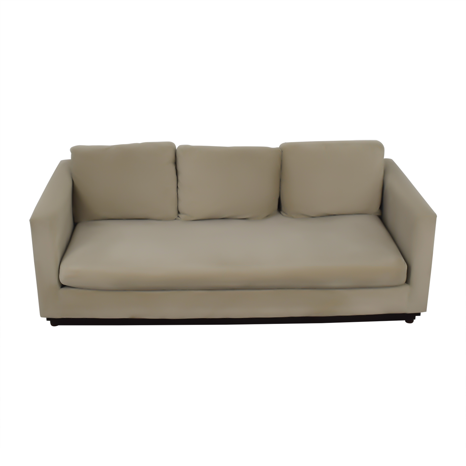 West Elm West Elm Tan Single Cushion Couch nj