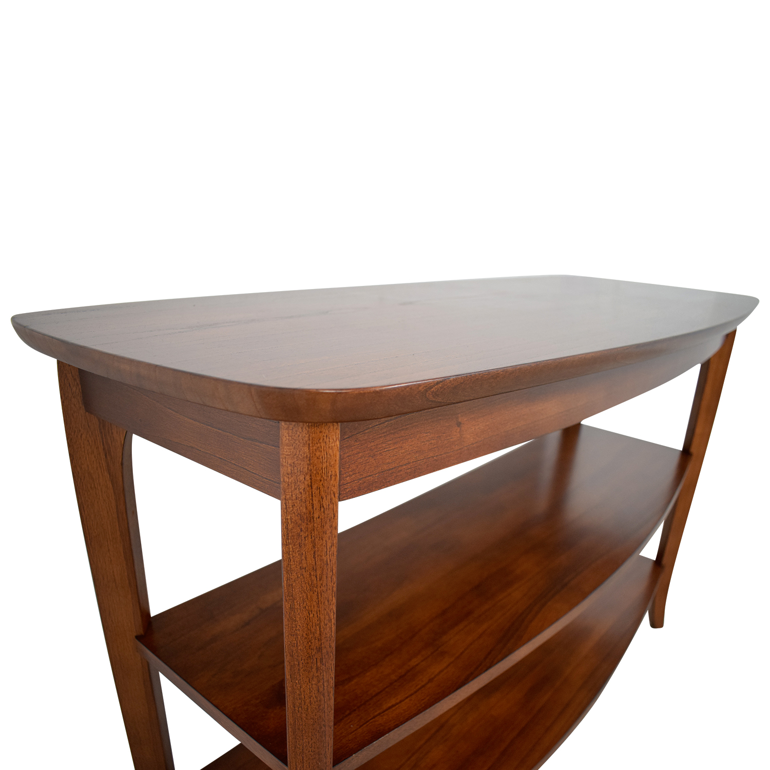 Wondrous 77 Off Pottery Barn Pottery Barn Chloe Wood Console Storage Machost Co Dining Chair Design Ideas Machostcouk