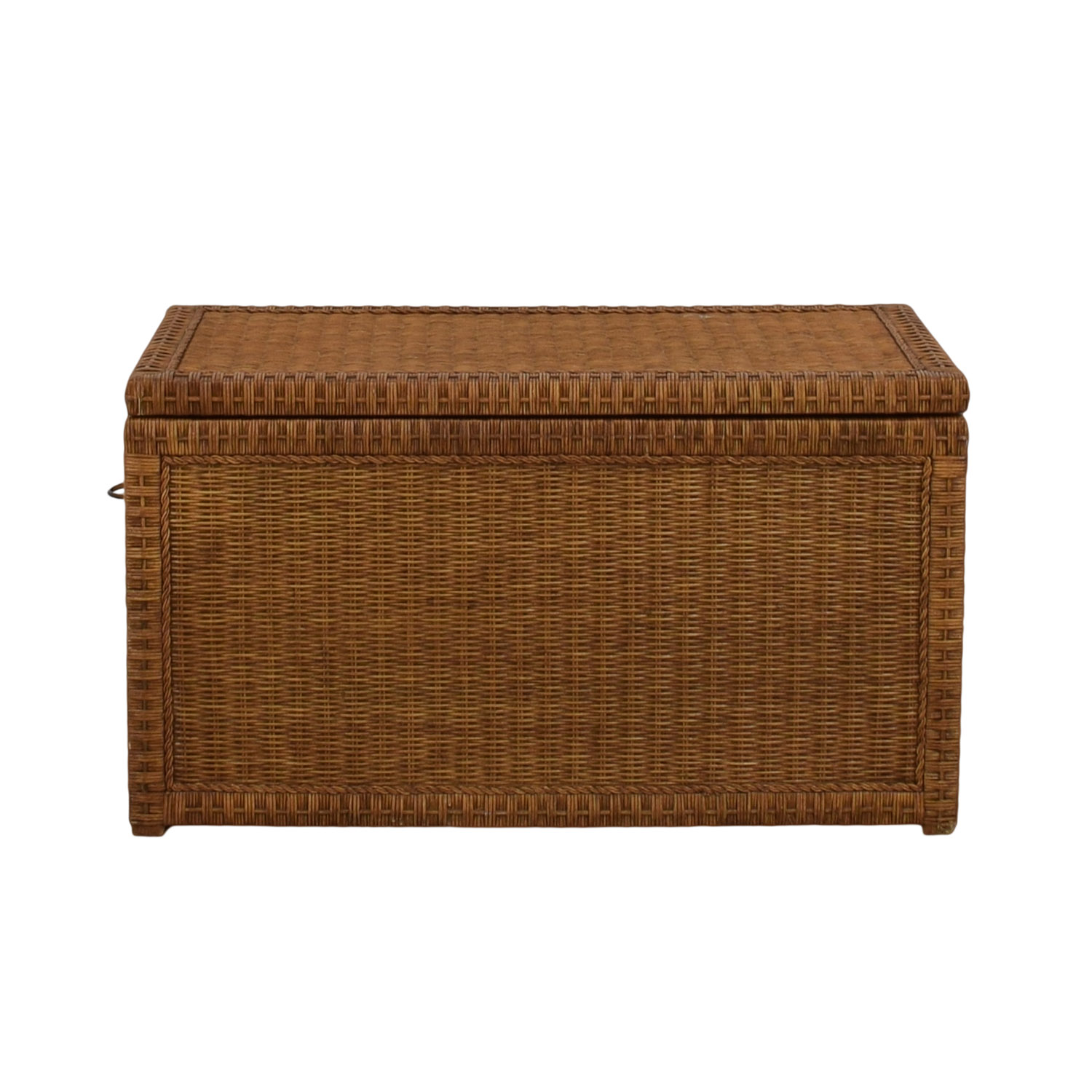 shop Pier One Wicker Trunk Pier One