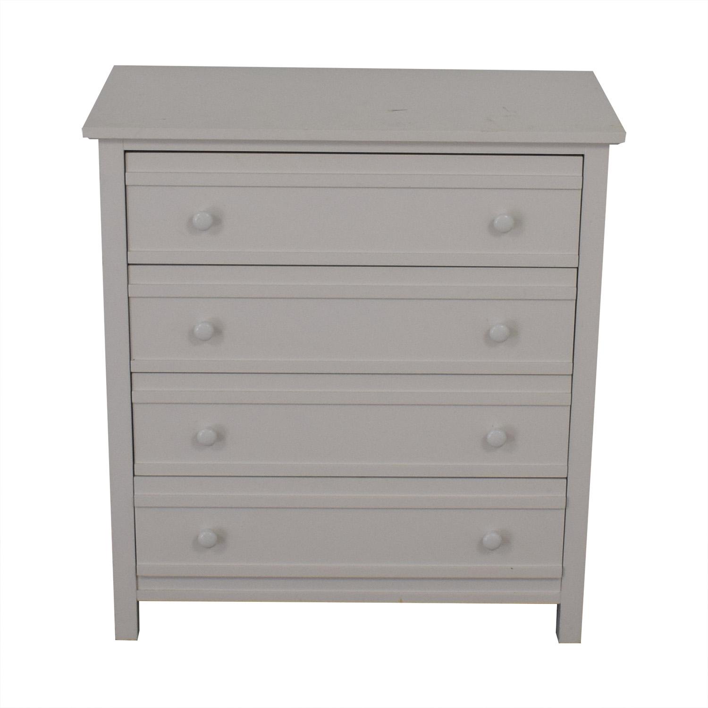 buy Crate & Barrel Four Drawer Dresser Crate & Barrel