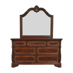 shop Liberty Furniture Liberty Furniture Catalina Seven-Drawer Dresser and Mirror online