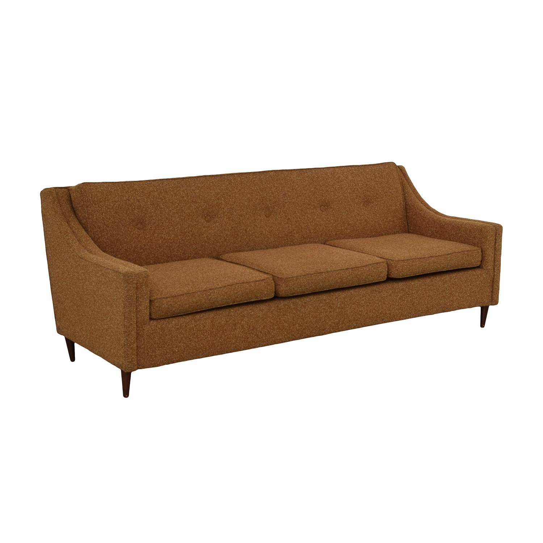 50 off vintage mid century sofa sofas. Black Bedroom Furniture Sets. Home Design Ideas
