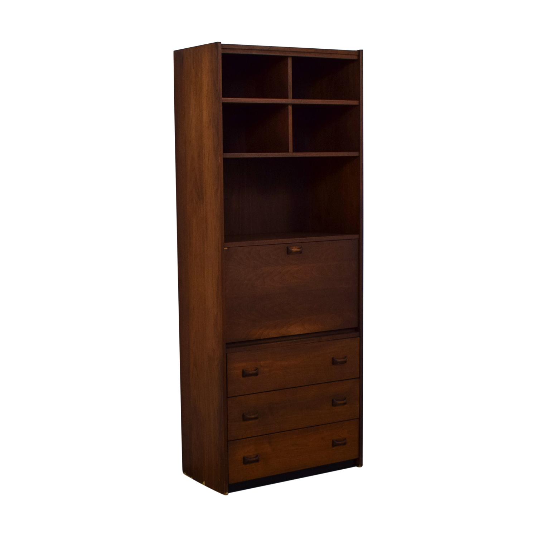 Secretary Bookshelf Storage