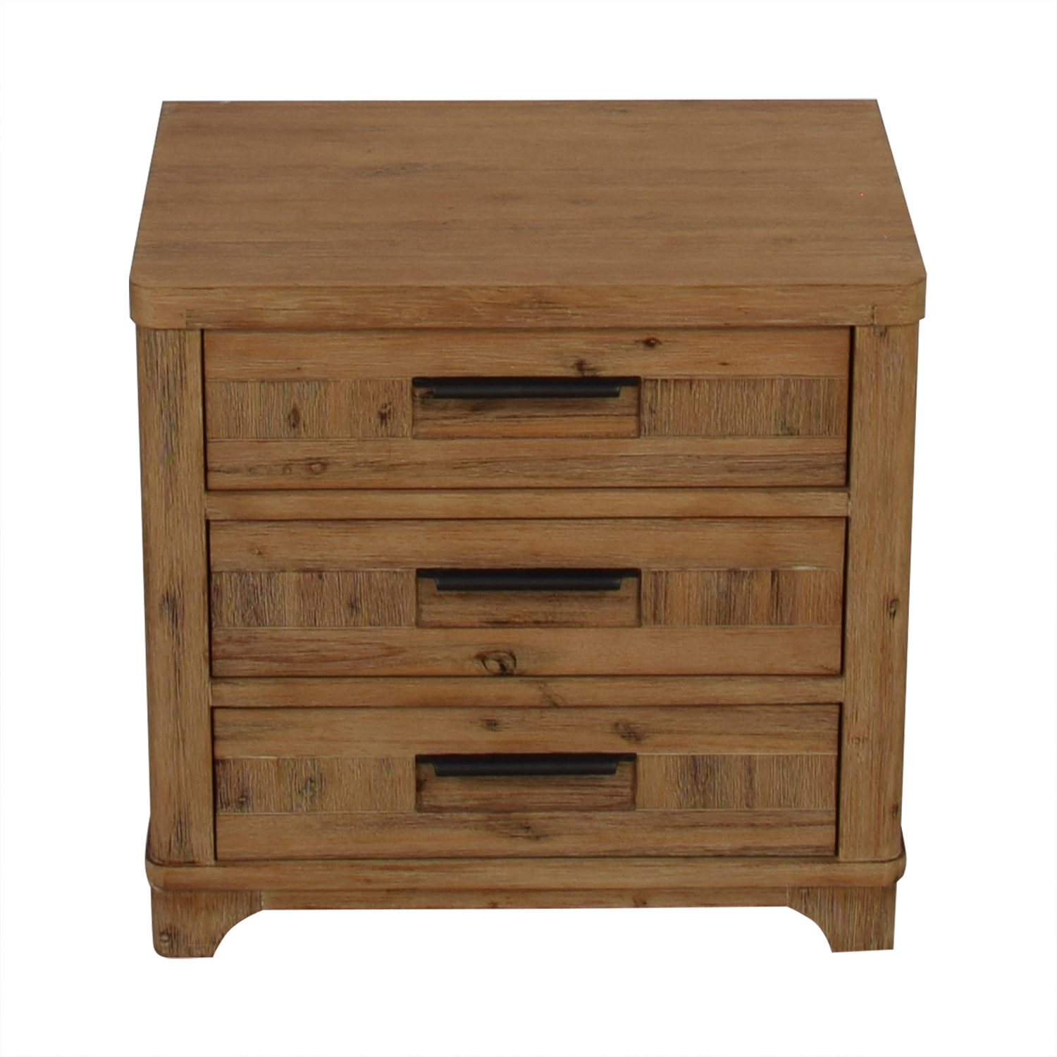 Casana Casana Rustic Three Drawer Nightstand coupon