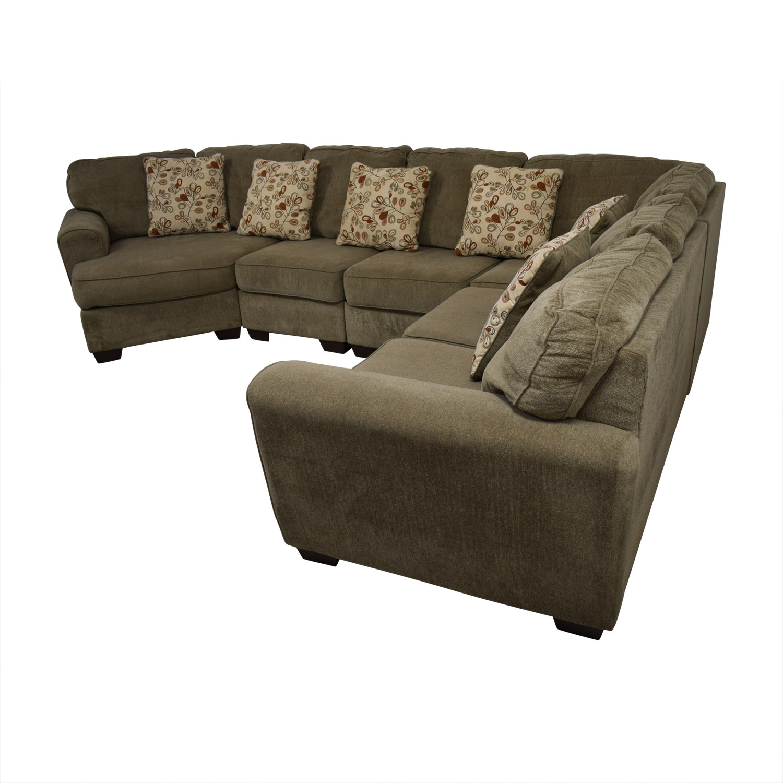 83 Off Ashley Furniture Ashley Furniture Tan L Shaped
