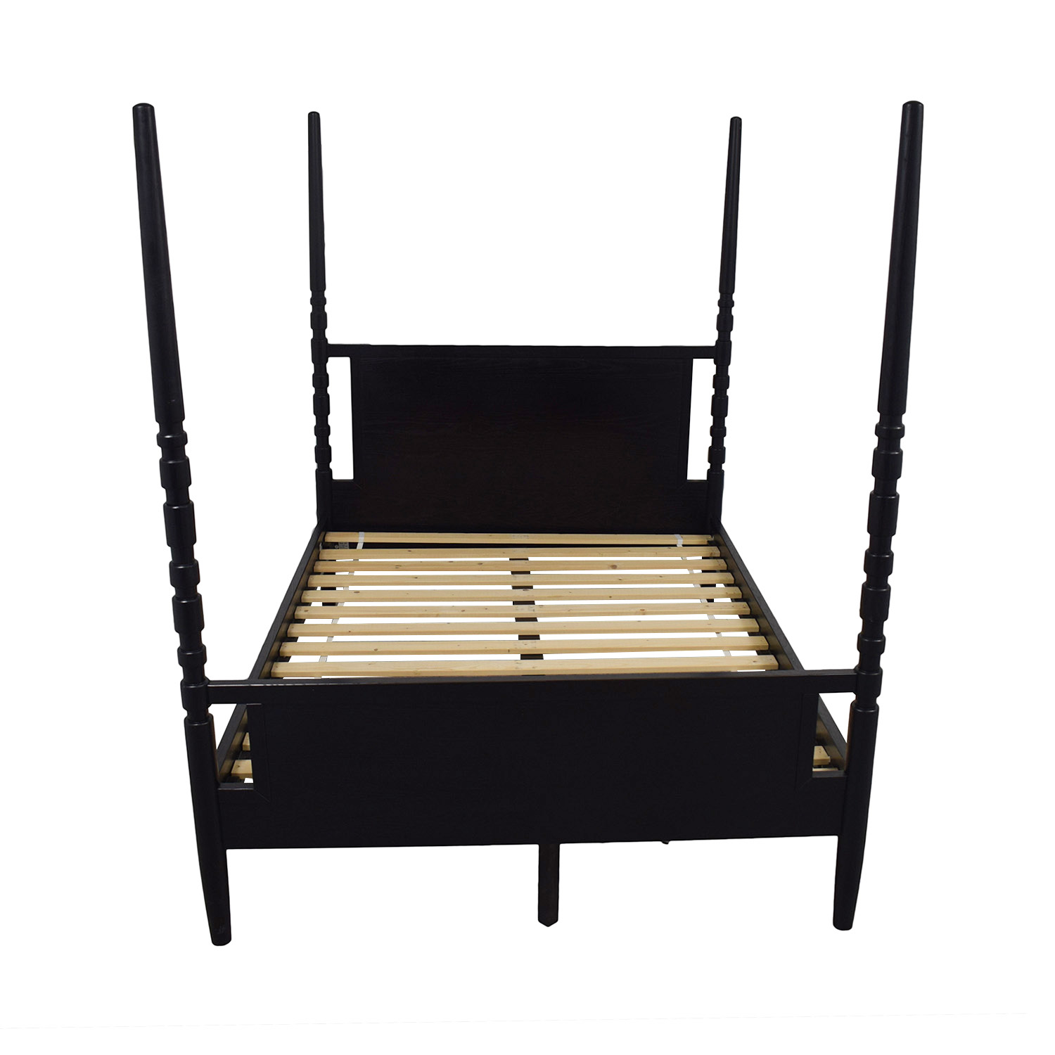 buy West Elm Black Queen Four Poster Bed West Elm Sofas