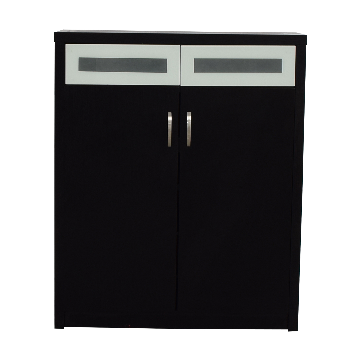 shop Modern Black Shoe Cabinet