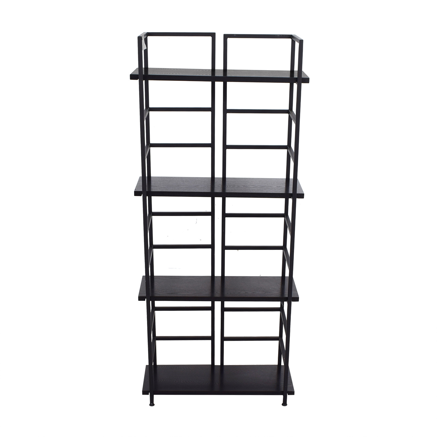 shop Black Wood Bookshelf