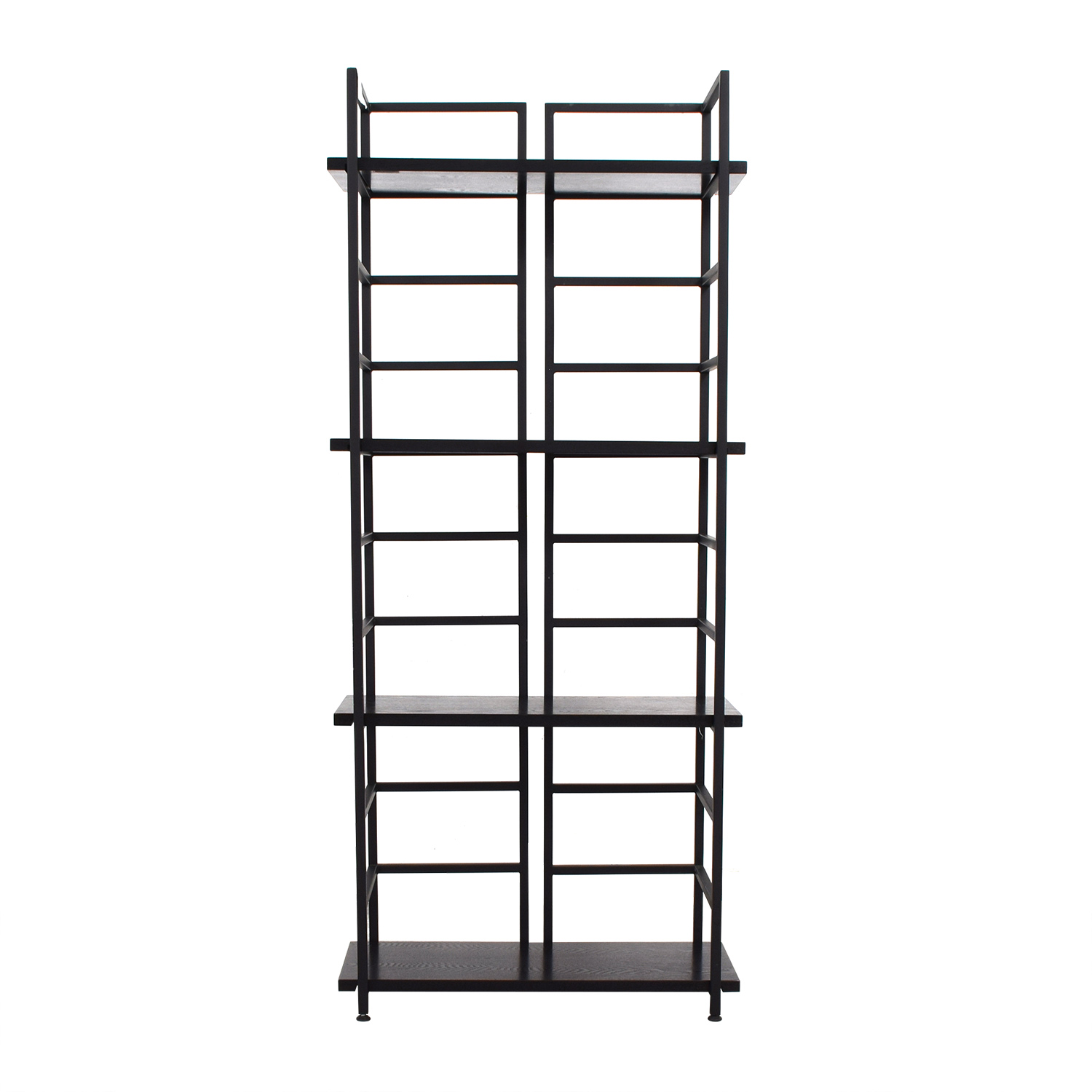 Black Wood Bookshelf discount
