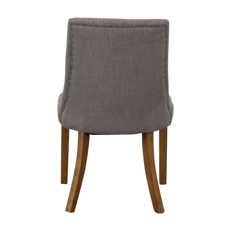 Gray High Back Chair Gray