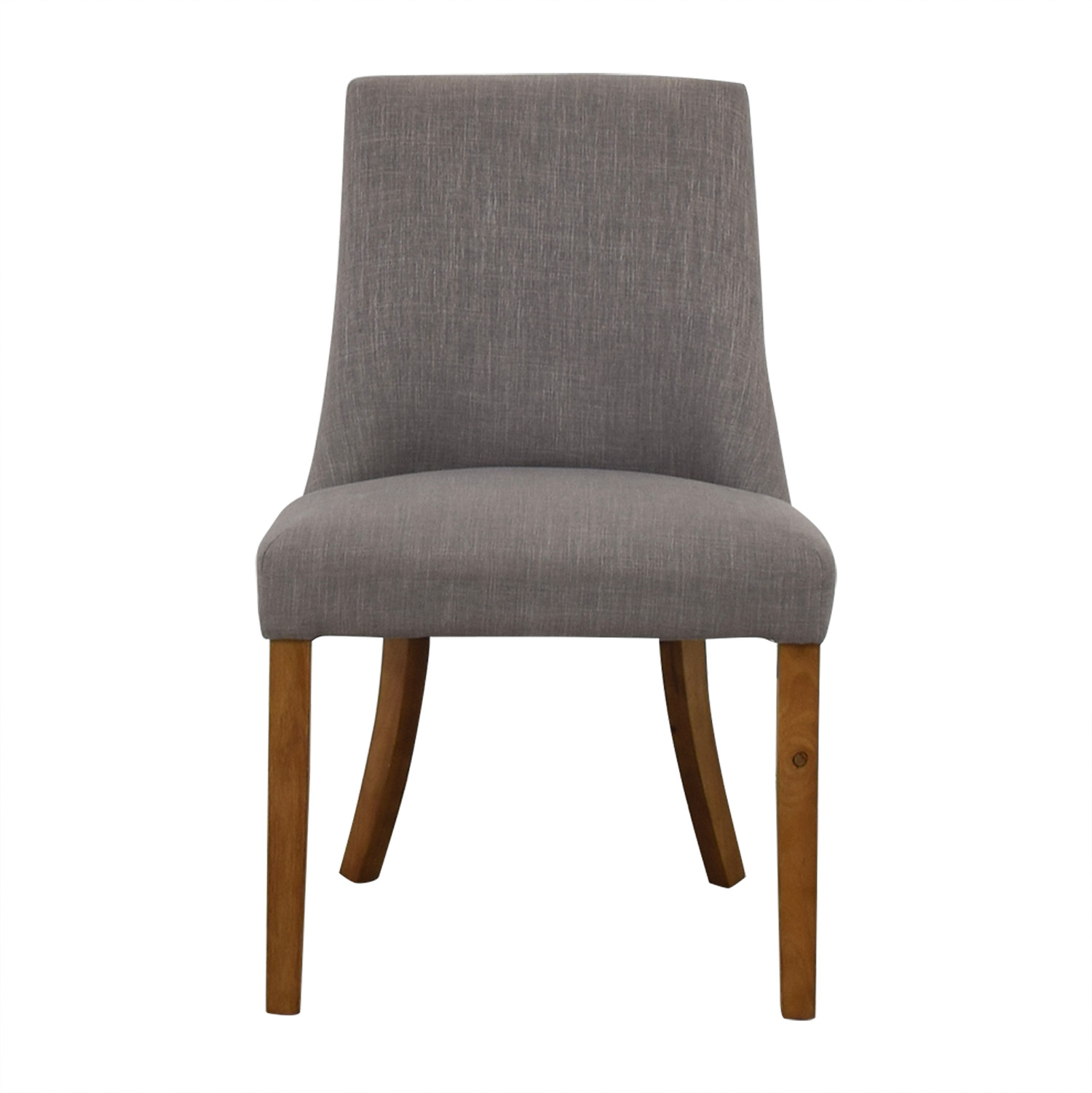 shop Gray High Back Chair  Dining Chairs