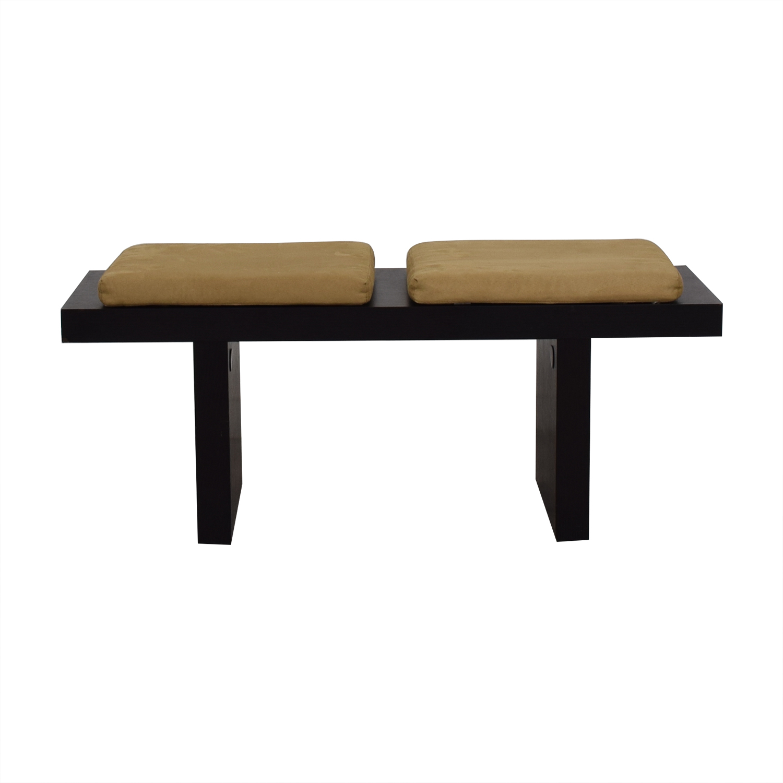West Elm West Elm Beige Cushion Bench price