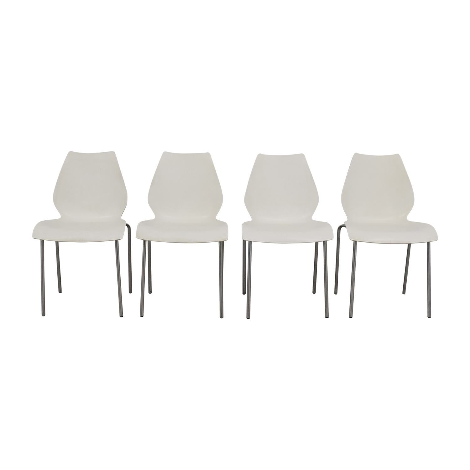 White Dining Chairs for sale