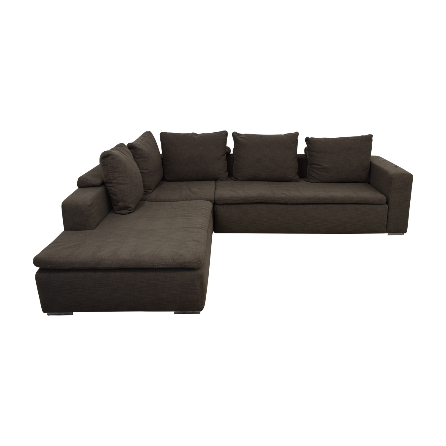 BoConcept BoConcept Gray L-Shaped Sectional nj