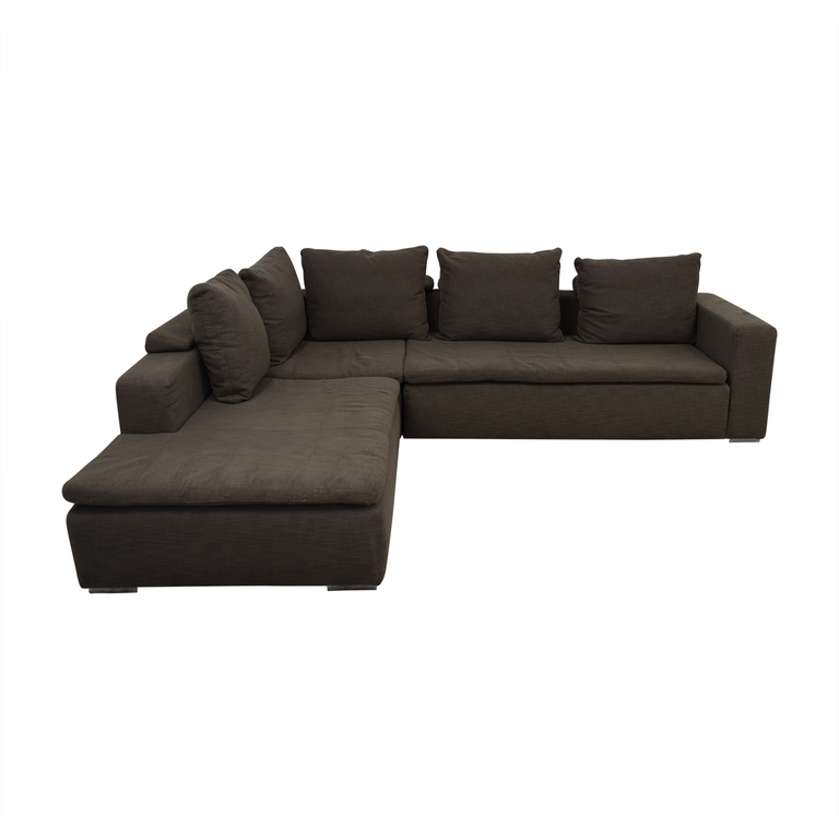buy BoConcept Gray L-Shaped Sectional BoConcept