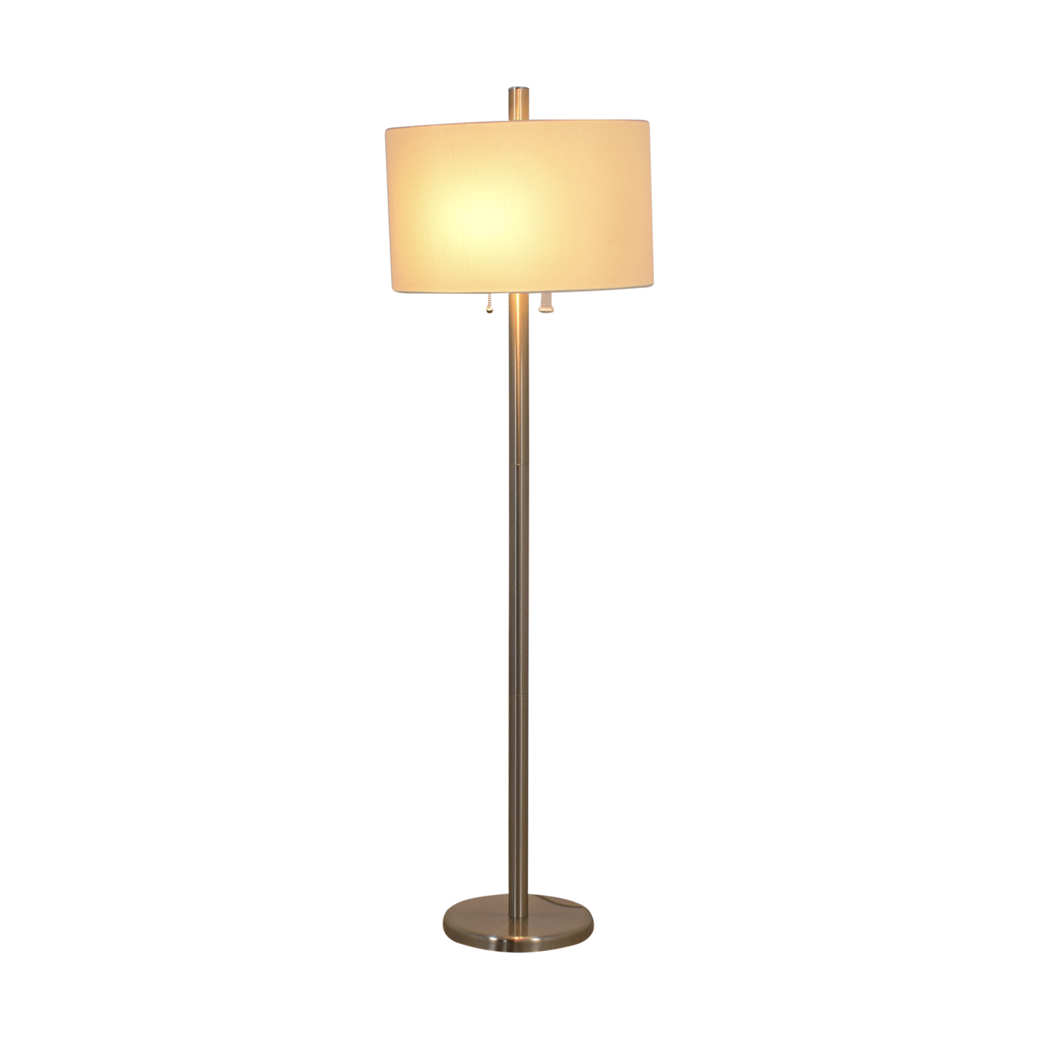 Adesso Adesso Boulevard Satin Steel Floor Lamp nyc