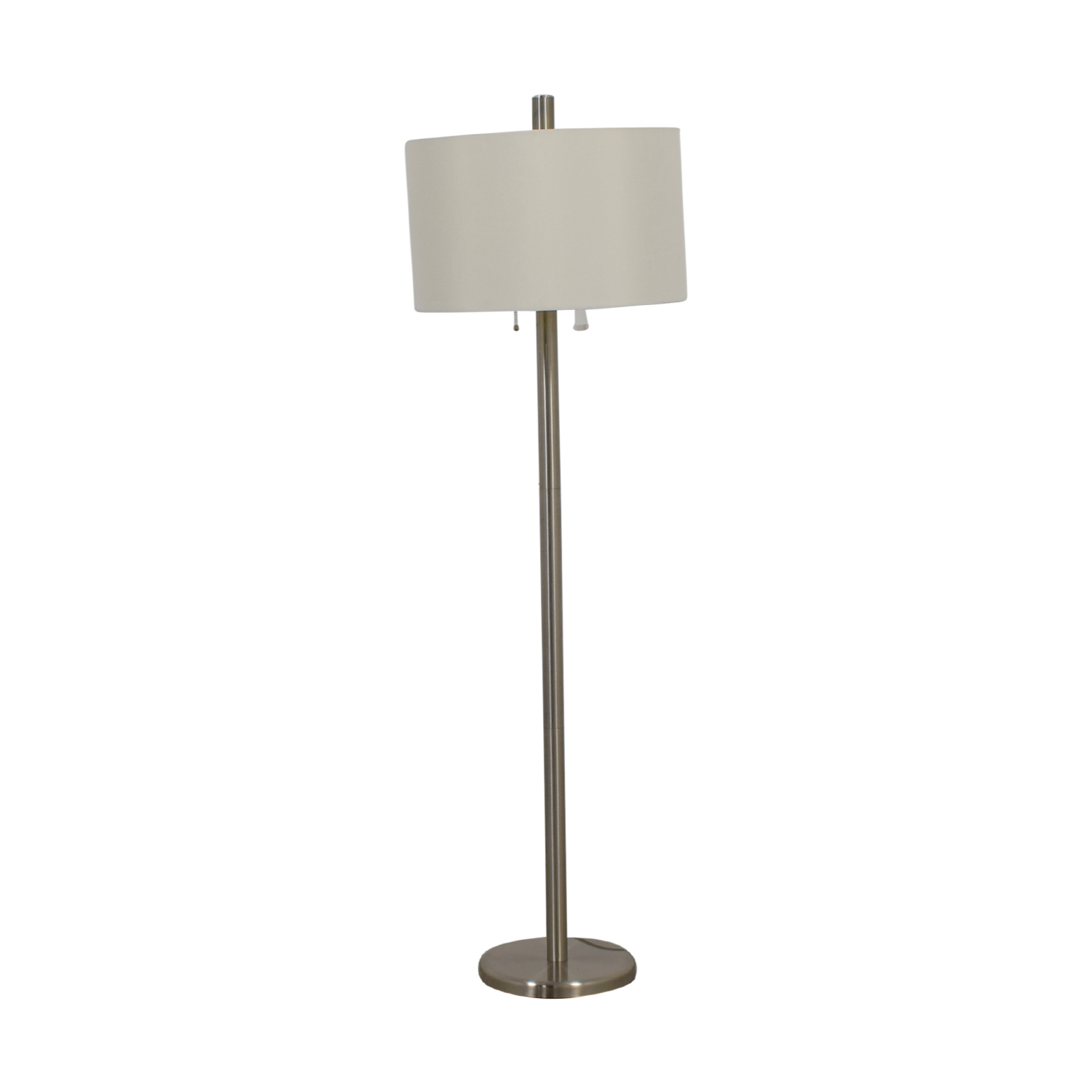 Adesso Adesso Boulevard Satin Steel Floor Lamp price