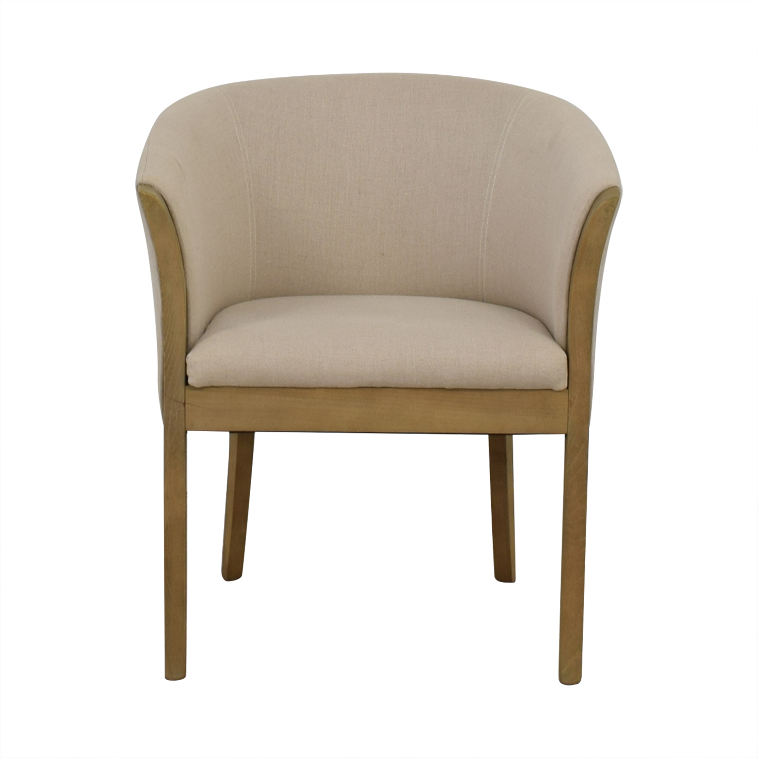 shop One Kings Lane Beige Accent Chair One Kings Lane Sofas