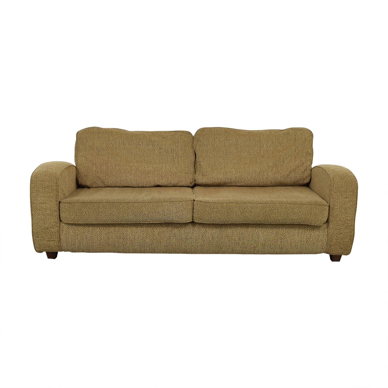 81 off pier 1 pier 1 pampas two cushion sofa sofas rh kaiyo com pier 1 sofas reviews pier one furniture