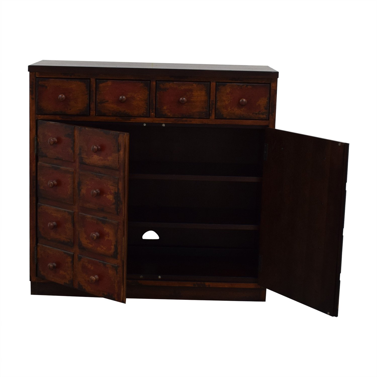 shop  Faux Drawer Media Cabinet with Four Drawers online
