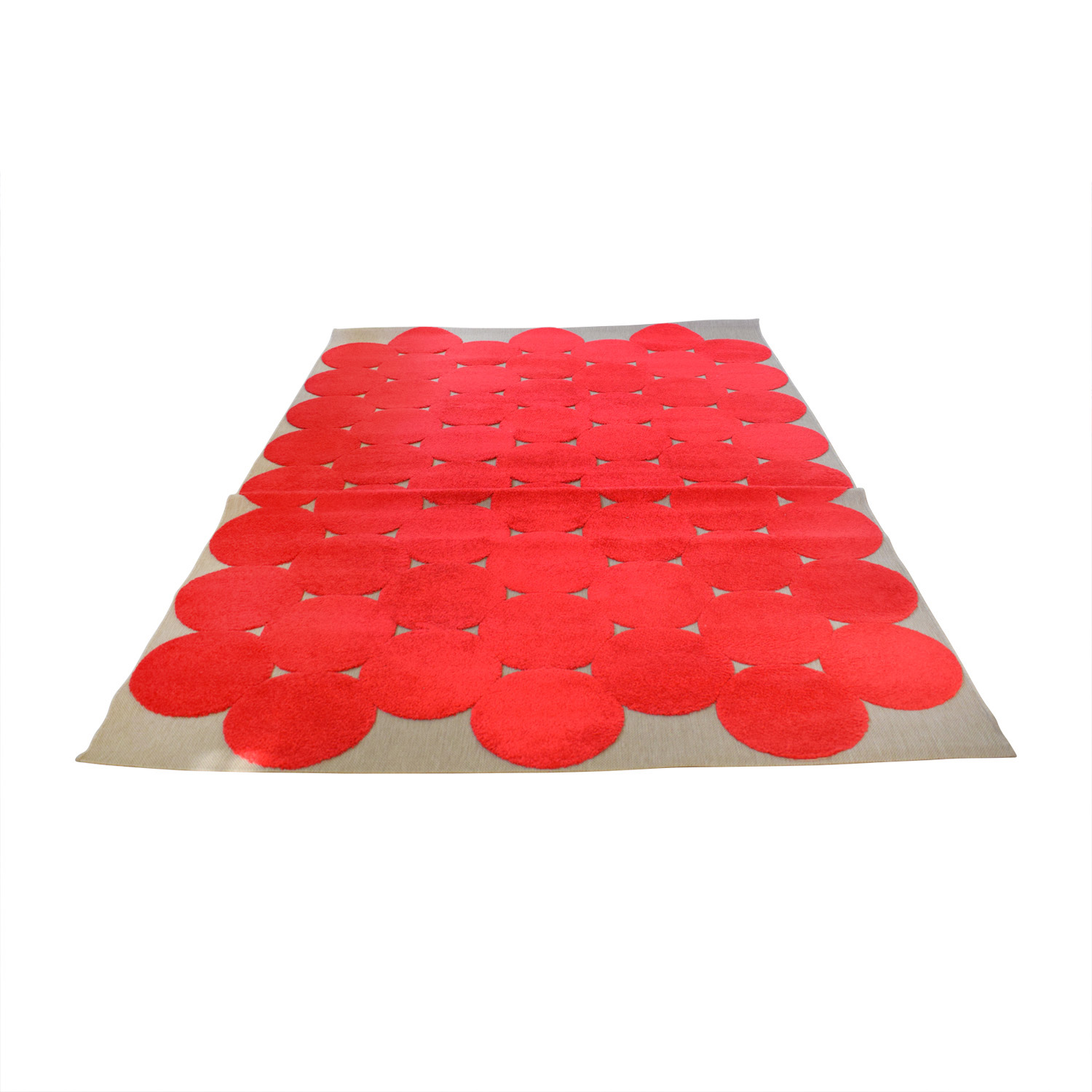shop IKEA IKEA Red Circle Rug online