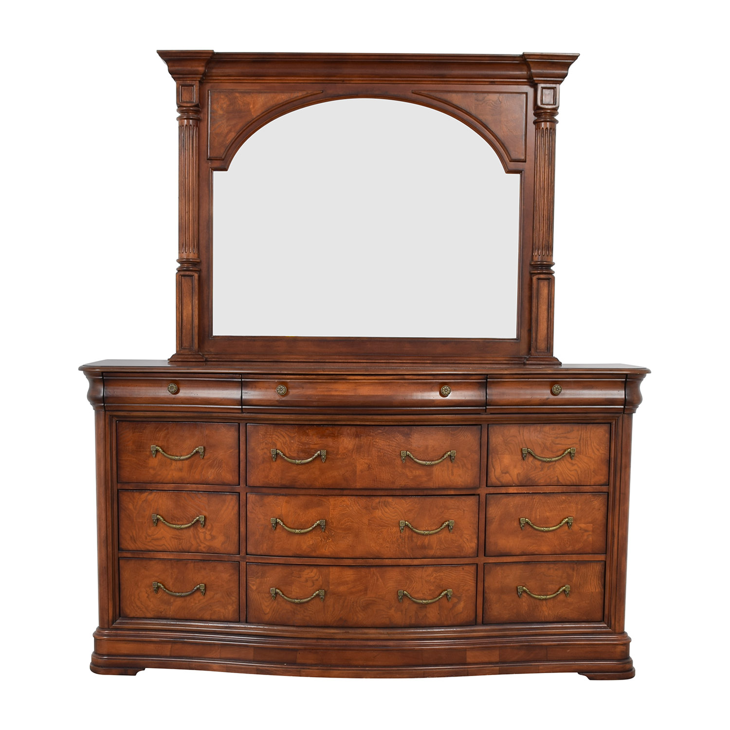 Universal Furniture Universal Furniture Triple Dresser with Mirror coupon