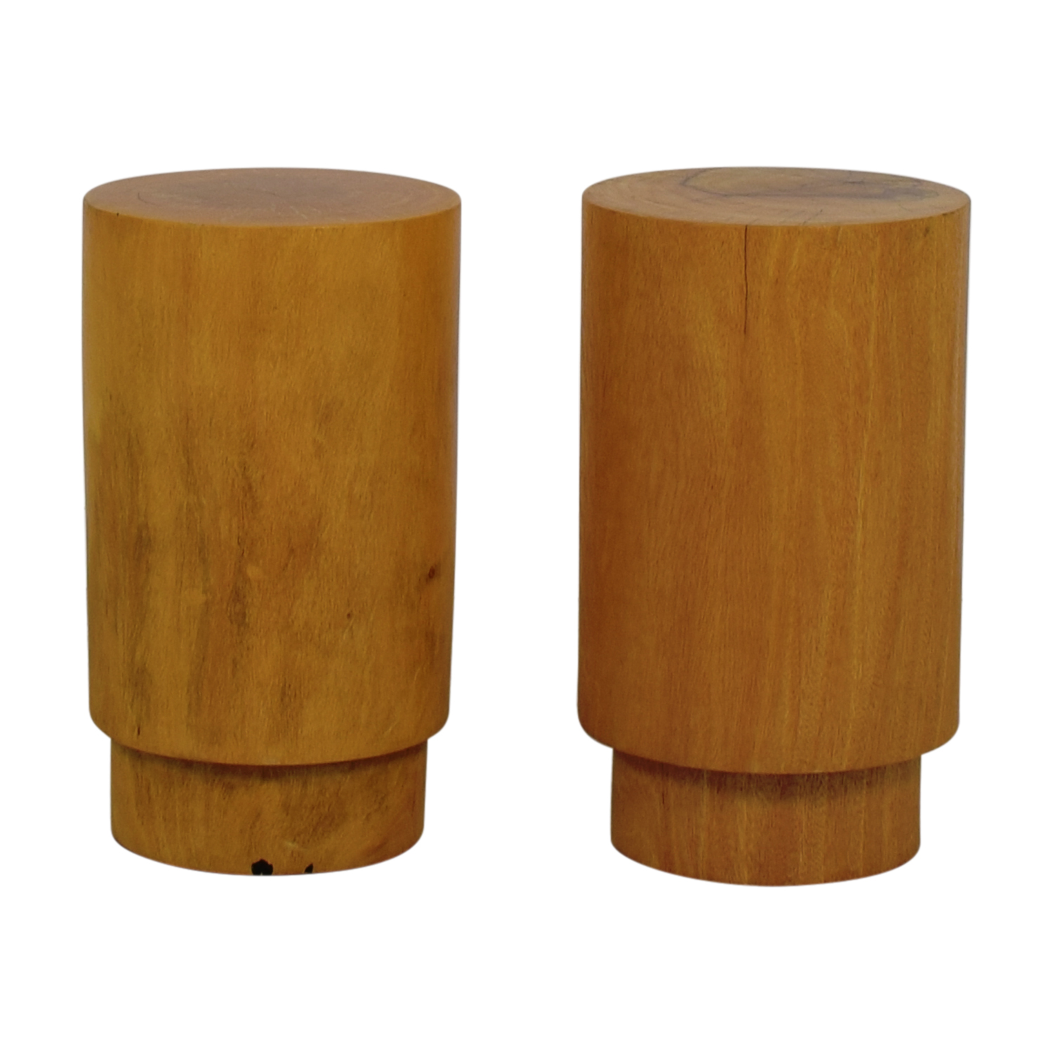 buy Round Wood Side Tables or Stools  Chairs