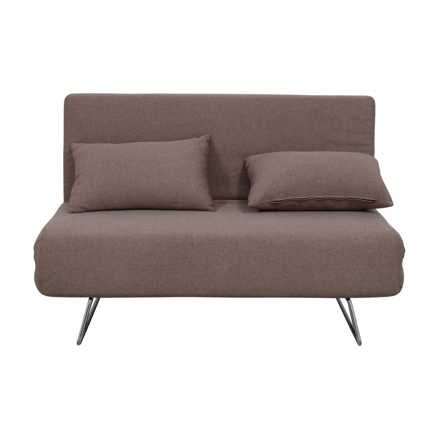All Modern All Modern Gray Convertible Futon on sale