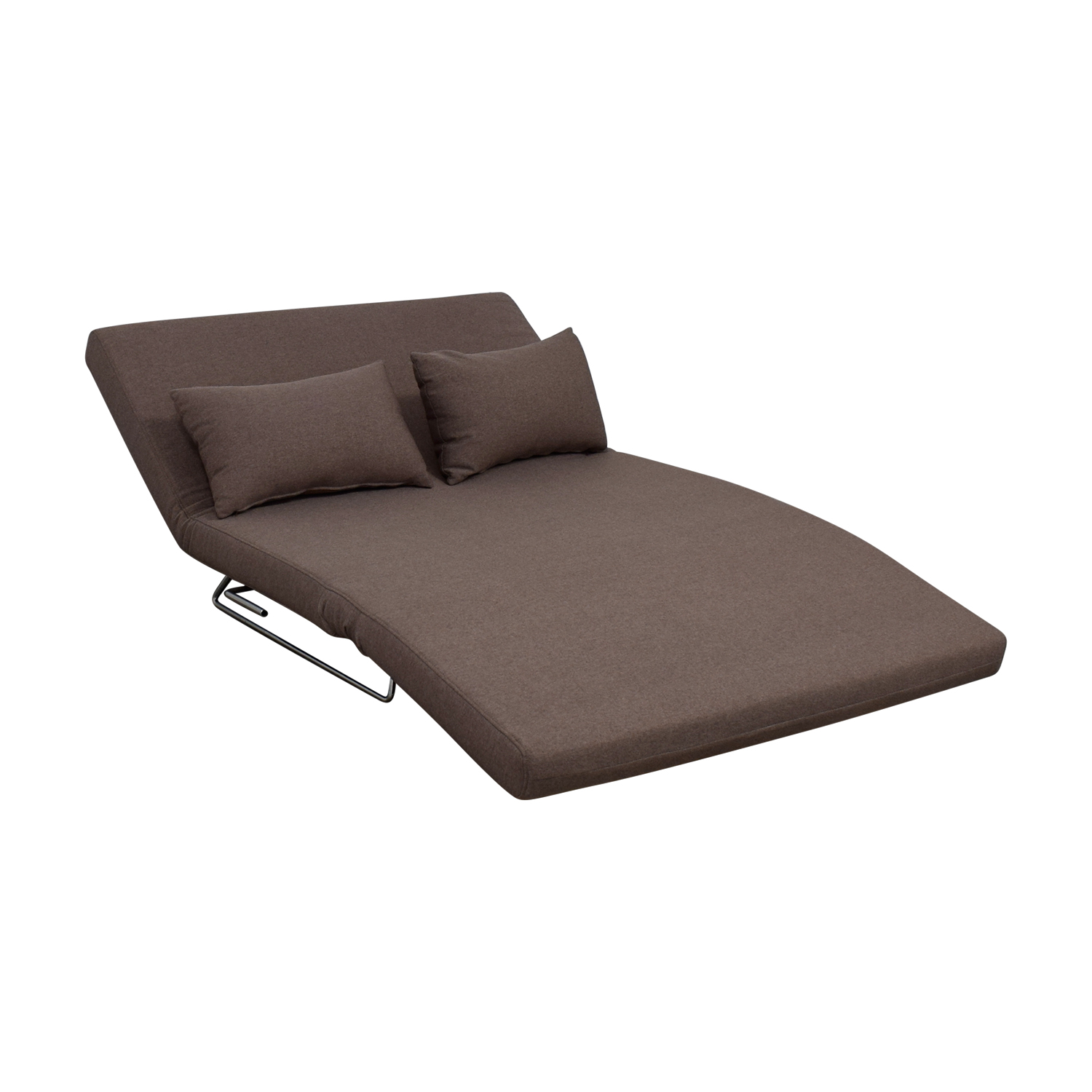 All Modern All Modern Gray Convertible Futon dimensions