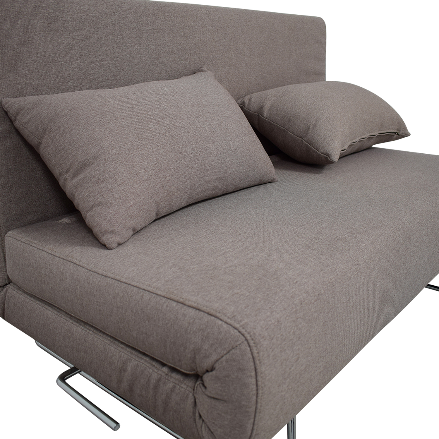 All Modern All Modern Gray Convertible Futon used