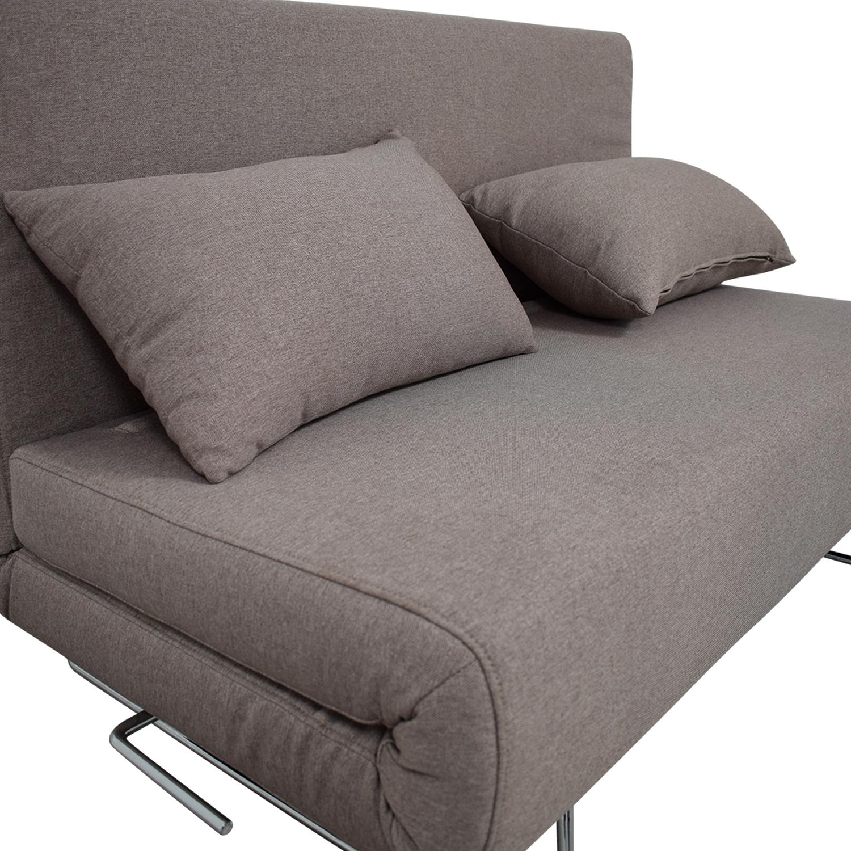 Phenomenal 49 Off Allmodern All Modern Gray Convertible Futon Sofas Squirreltailoven Fun Painted Chair Ideas Images Squirreltailovenorg