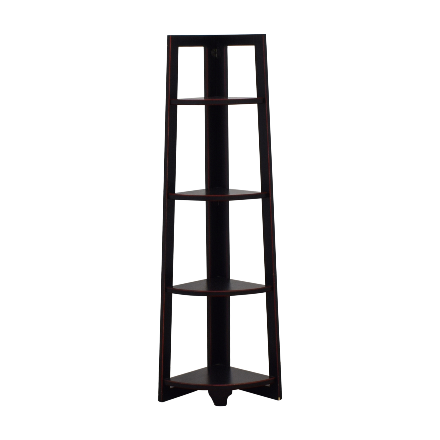 buy Pier 1 Imports Wood Corner Shelf Pier 1 Imports Bookcases & Shelving