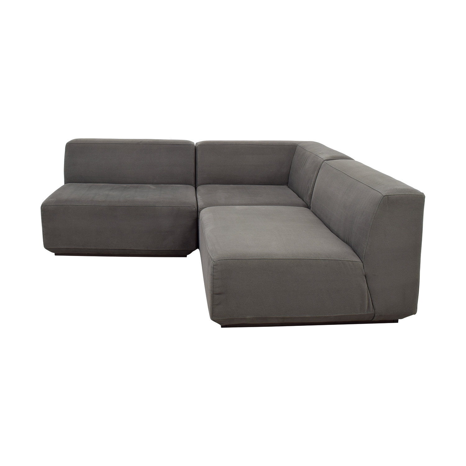 buy West Elm Three Piece Sectional Sofa West Elm Sectionals