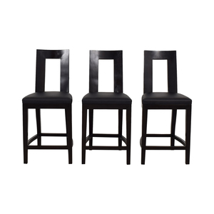buy Furniture Masters Furniture Masters Black Bar Stools online