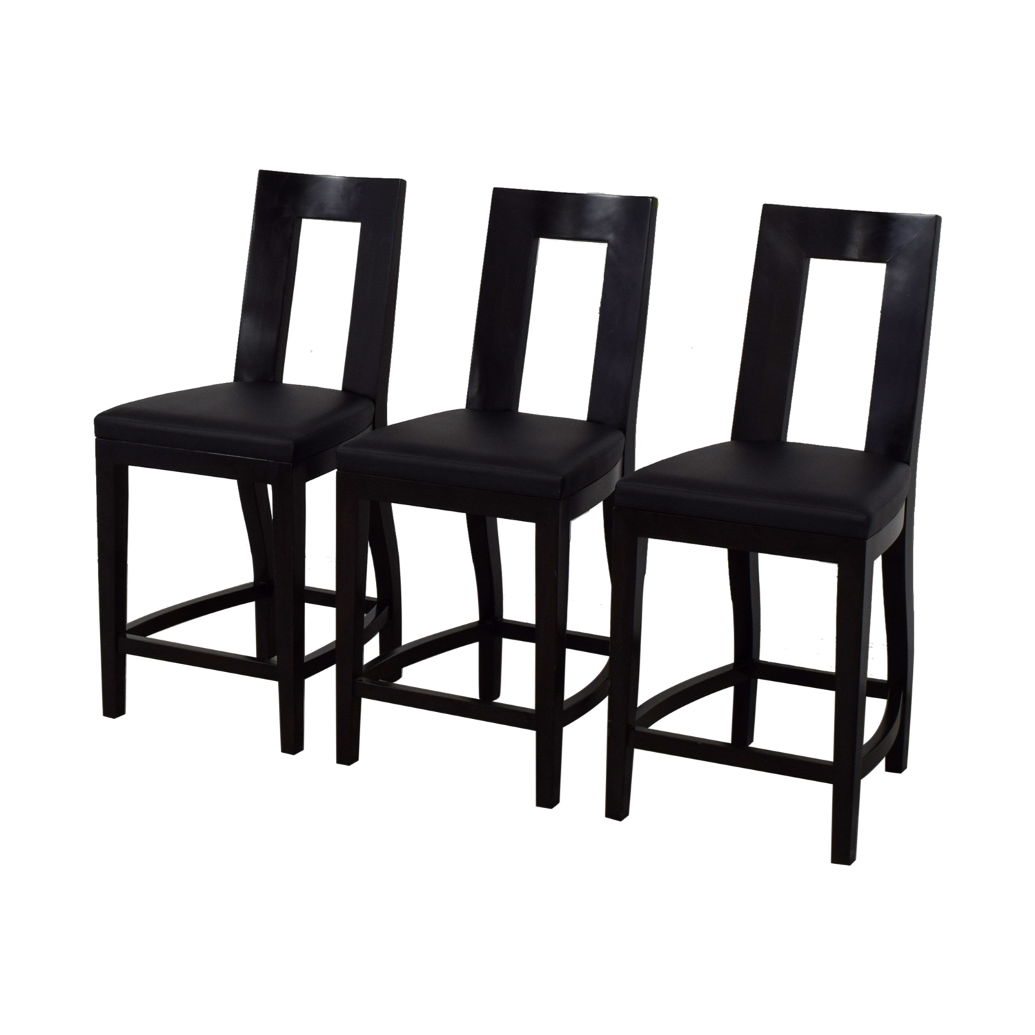 shop Furniture Masters Black Bar Stools Furniture Masters