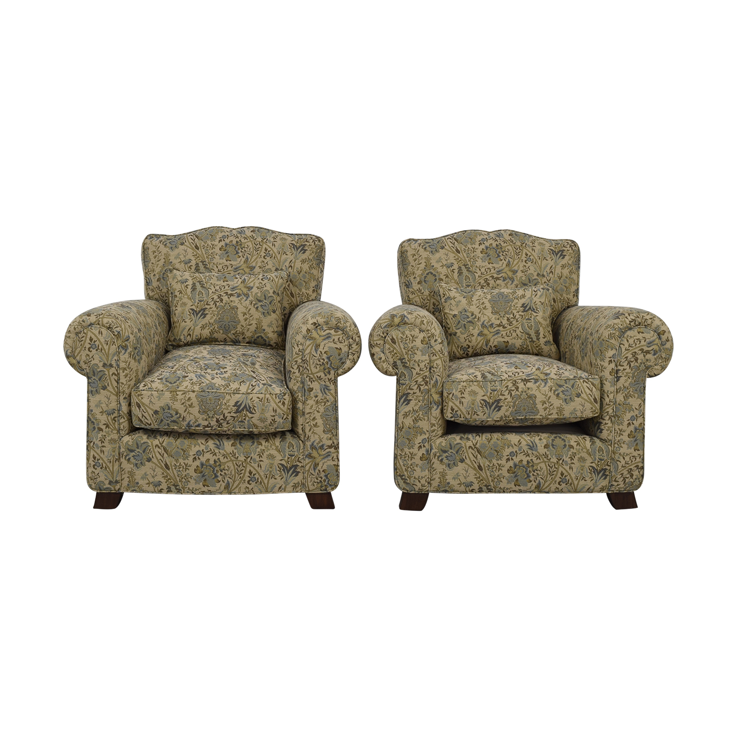 Furniture Masters Furniture Masters Floral Traditional Chairs Sofas