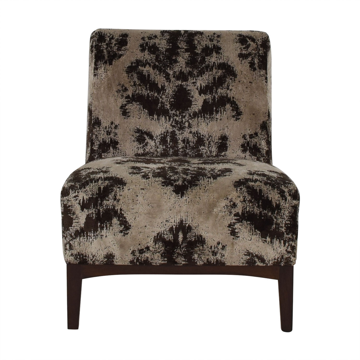 Furniture masters furniture masters brown and grey accent chair second hand