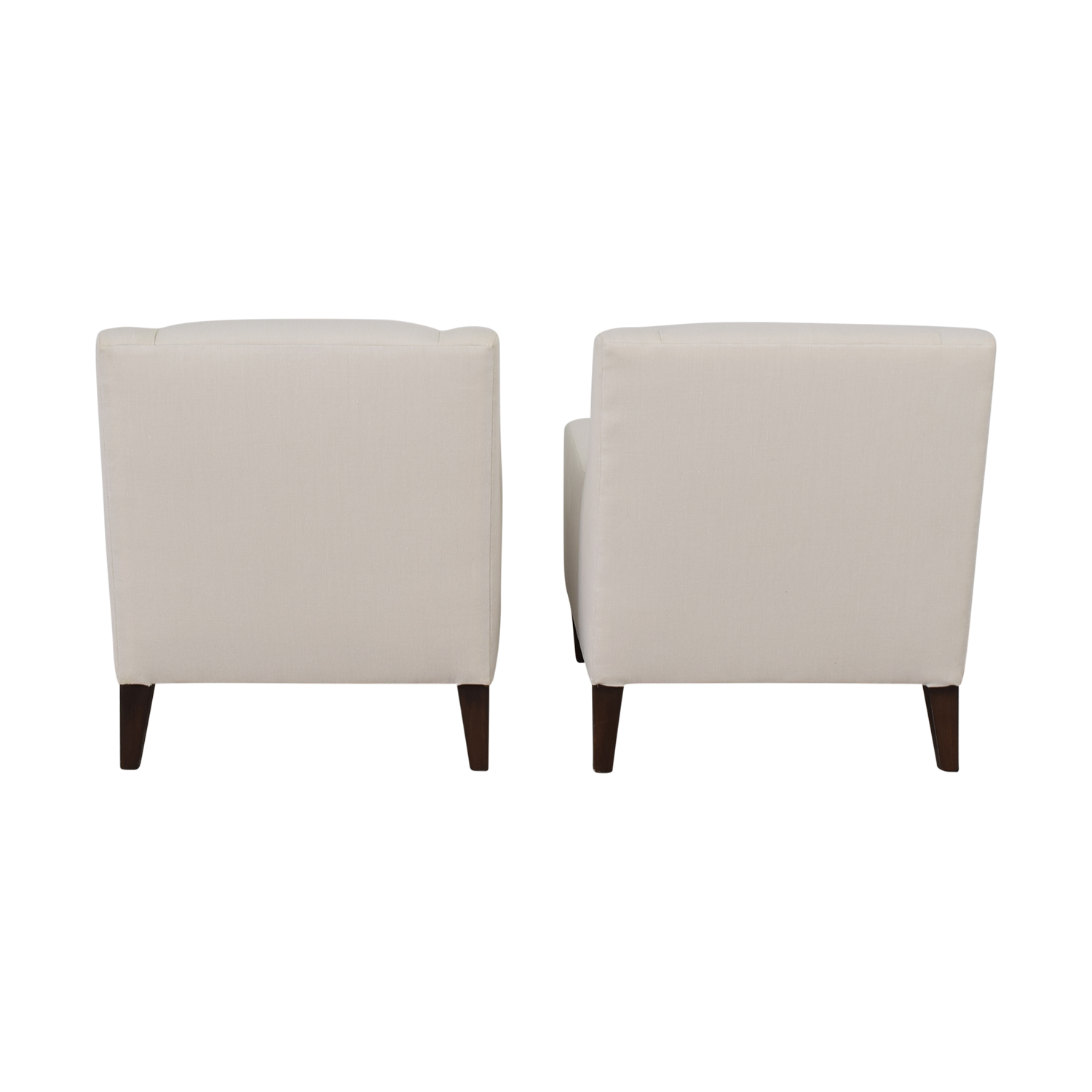 buy Furniture Masters Furniture Masters Neutral Sleek Club Chairs online