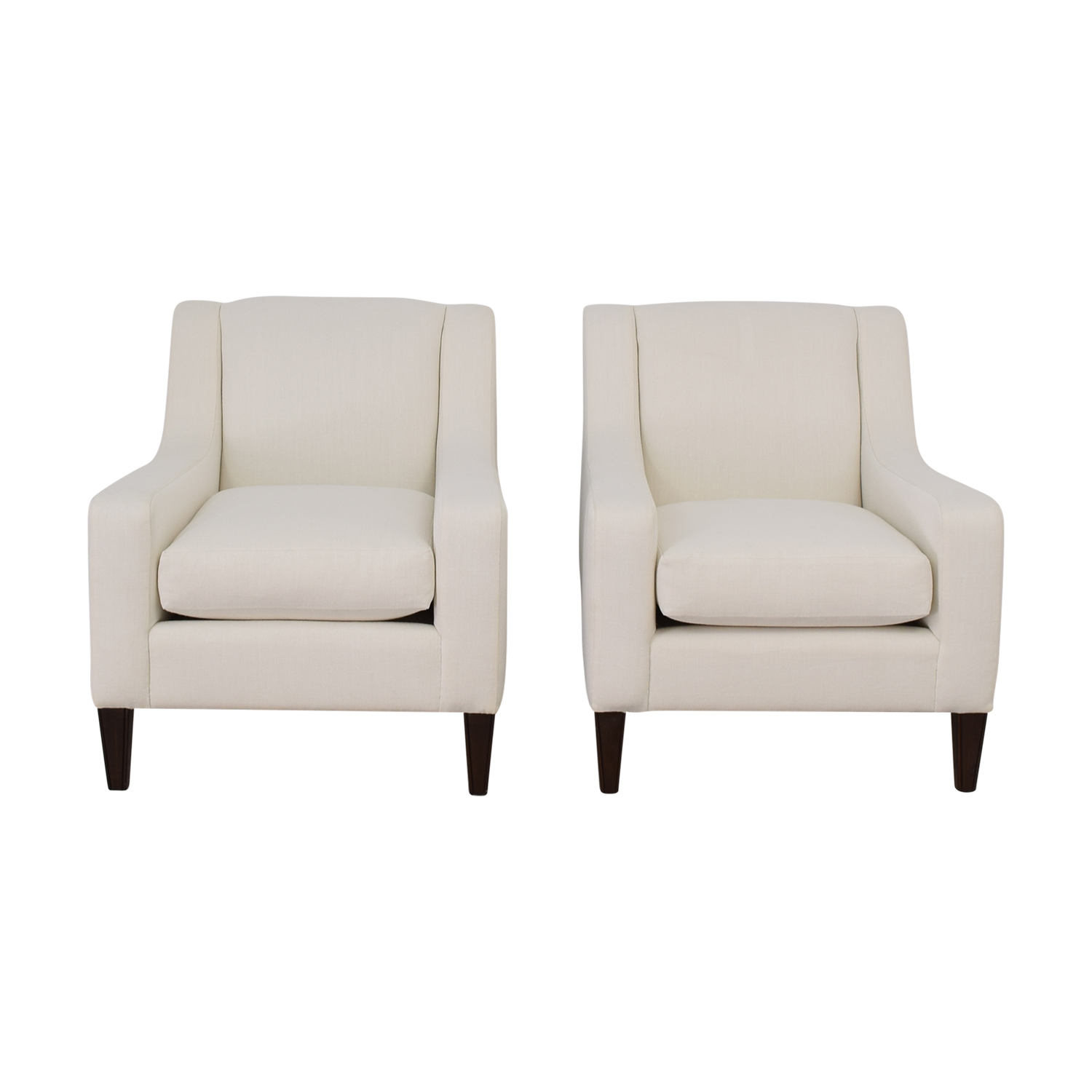 Furniture Masters Furniture Masters Neutral Sleek Club Chairs nj