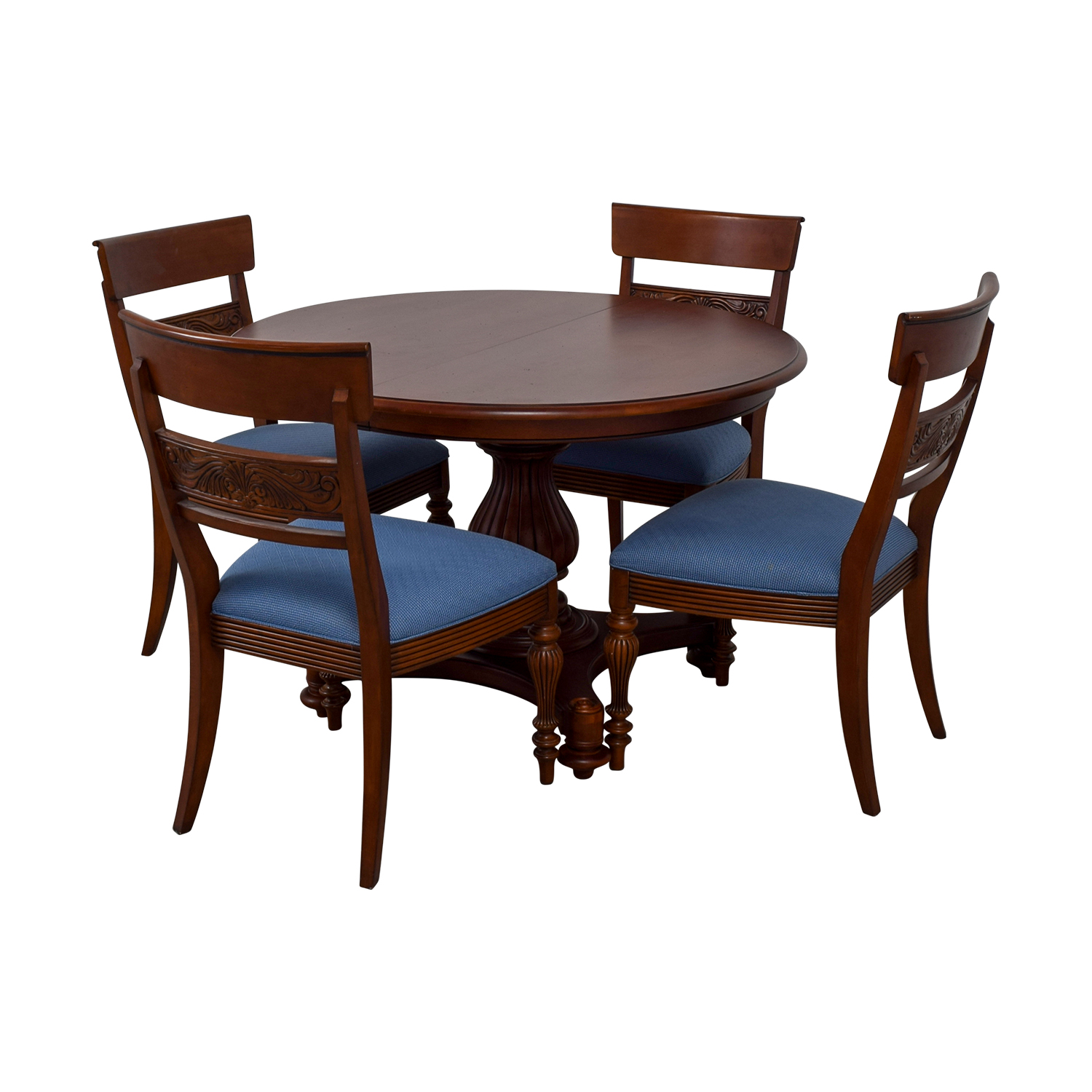 Ethan Allen Ethan Allen Round Extendable Dining Set nyc