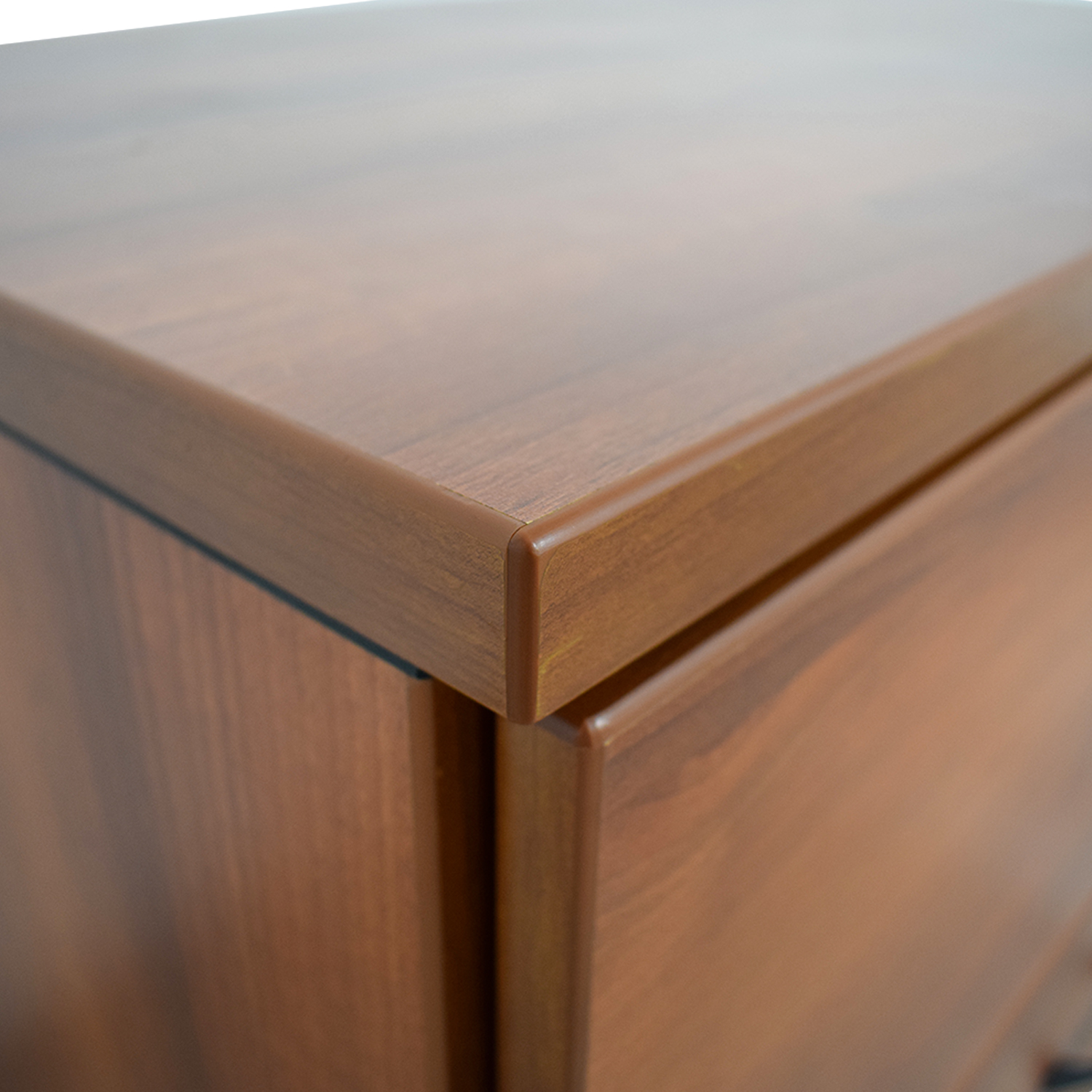 Cherry Two-Drawer Office Filing Cabinet dimensions
