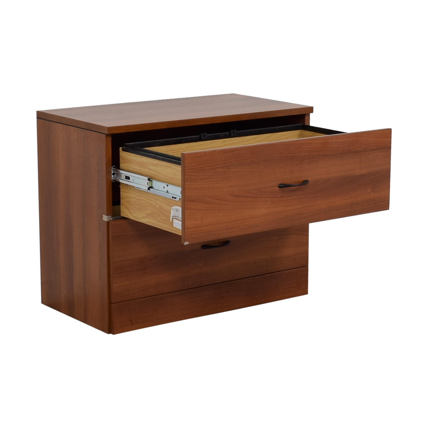 Cherry Two-Drawer Office Filing Cabinet on sale