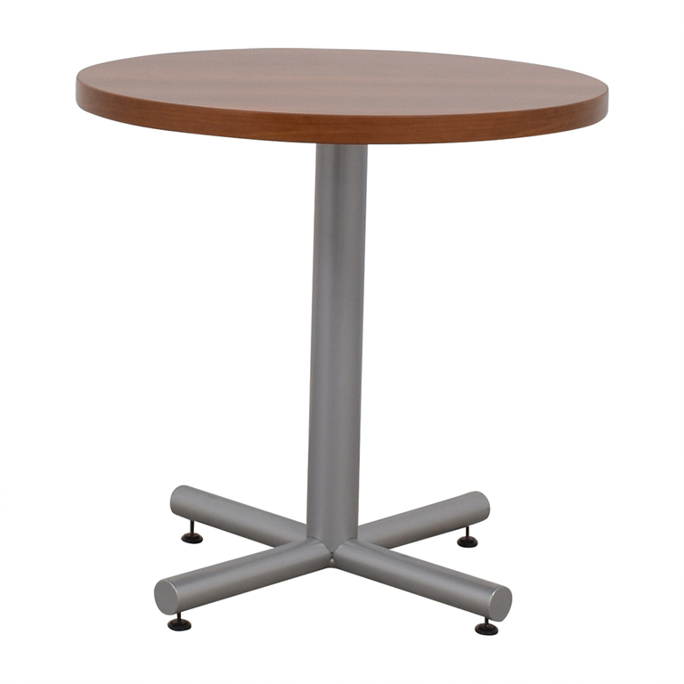 Small Round Office Table used