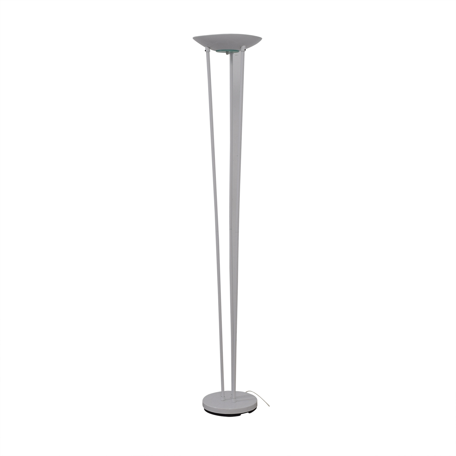 buy Torchiere Classic White Halogen Floor Lamp Torchiere Decor