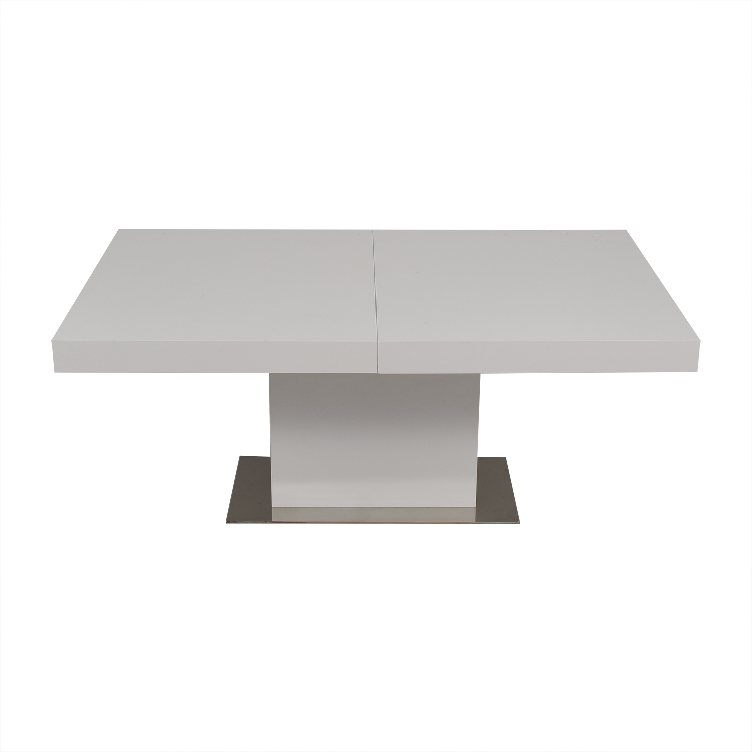 shop Modani Palerma Extendable Table White Modani