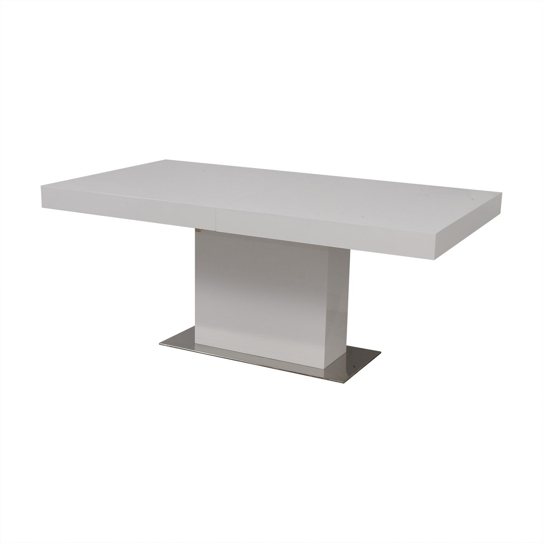 Modani Modani Palerma Extendable Table White nyc